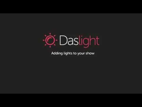 Adding Lights to your Show in Daslight 4