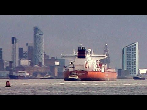 River Mersey, Liverpool 河位于Mersey利物浦