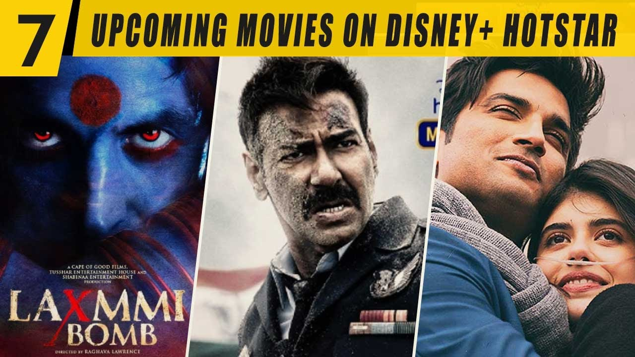 7 Upcoming Movies on Disney+ Hotstar 2020 | OTZ Media