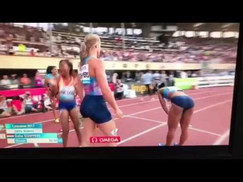 Dafne Schippers beats TaLou in women's 200m at Lausanne 2017 IAAF Diamond League