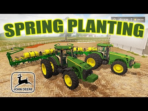 FARMING SIMULATOR 2017 | SPRING PLANTING MULTIPLAYER | 12 PERSON SERVER | EP #10