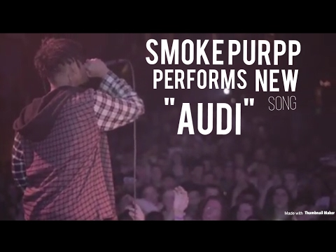 Smoke Purpp Performs NEW Song