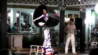 Chinese Acrobats at Son Bou Menorca