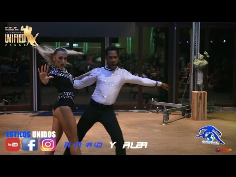 RONALD Y ALBA SHOW/ ASESINA SIN MATA -  LOVE ME AGAIN/ CONGRESS BACHATA/ UNIFIED DANCE LUXEMBOURG