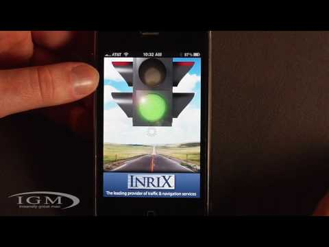 Free Live Traffic with Inrix Traffic! App (Review)