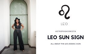 ALL ABOUT LEO ZODIAC SIGN