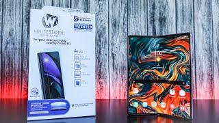 Samsung Galaxy Z Fold 2 Whitestone Dome Glass Install & Review