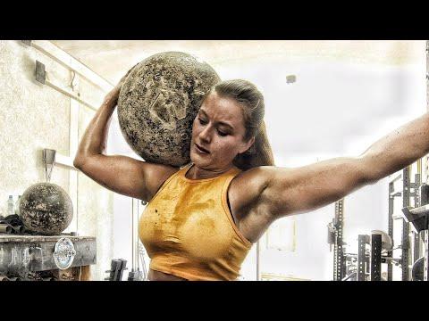 FRAU STEMMT 100KILO STEIN strongwoman workout