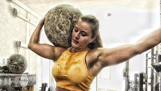 FRAU STEMMT 100KILO STEIN strongwoman workout
