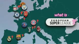 What is European Super League ? End of UEFA champions league?! | क्या है यूरोपियन सुपर लीग? Hindi