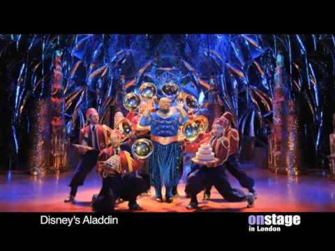Aladdin The Musical At Londons Prince Edward Theatre