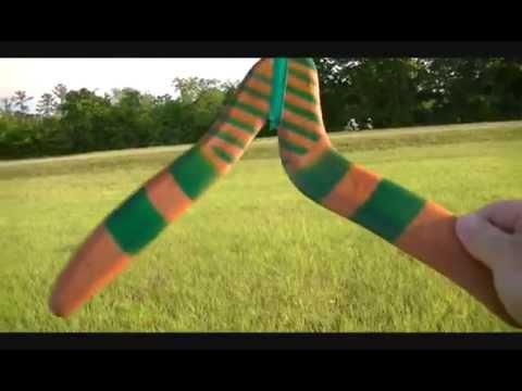 Rex boomerangs, Thown by Gary