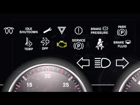 International Trucks - Dashboard Lights