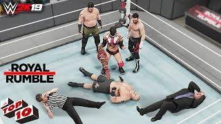 WWE Top 10 Royal Rumble 2019 Predictions! (WWE 2K19)