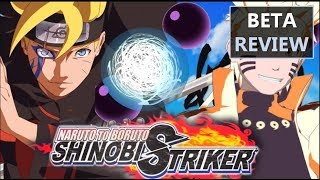 Naruto to Boruto Shinobi Striker Beta Review