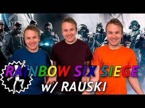 TÄYDELLINEN TIIMI? | R6S w/ Rauski