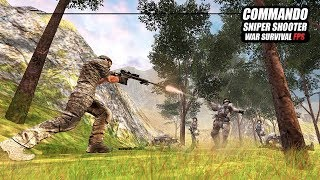 Commando Sniper Shooter War Survival FPS (by Vital Games Production) Android Gameplay [HD]