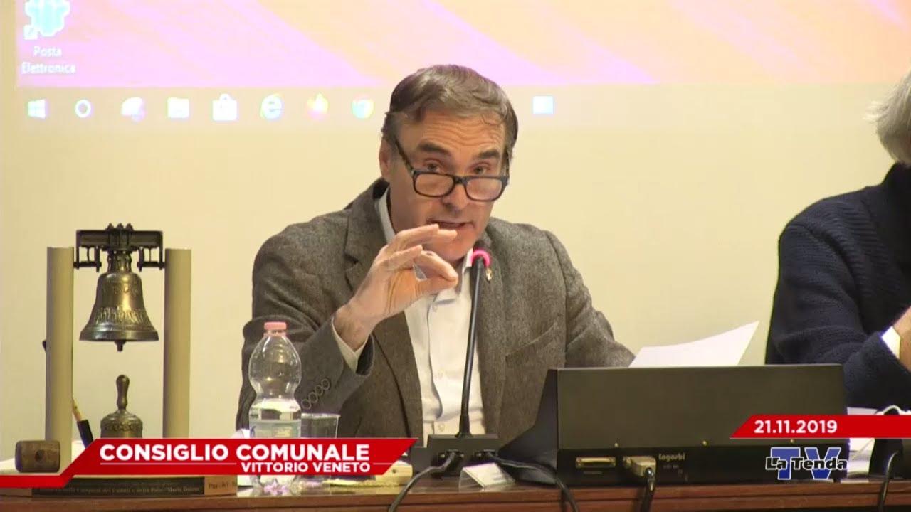 CONSIGLIO COMUNALE VITTORIO VENETO - Seduta del 21.11.2019