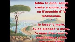 Poesia NapoletanaAddio
