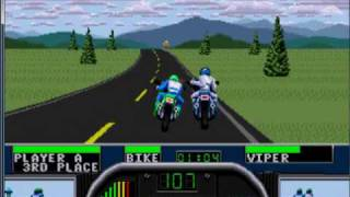 Road Rash 2 Race 3 - Tennessee