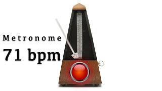 Metronome 71 bpm 🎼