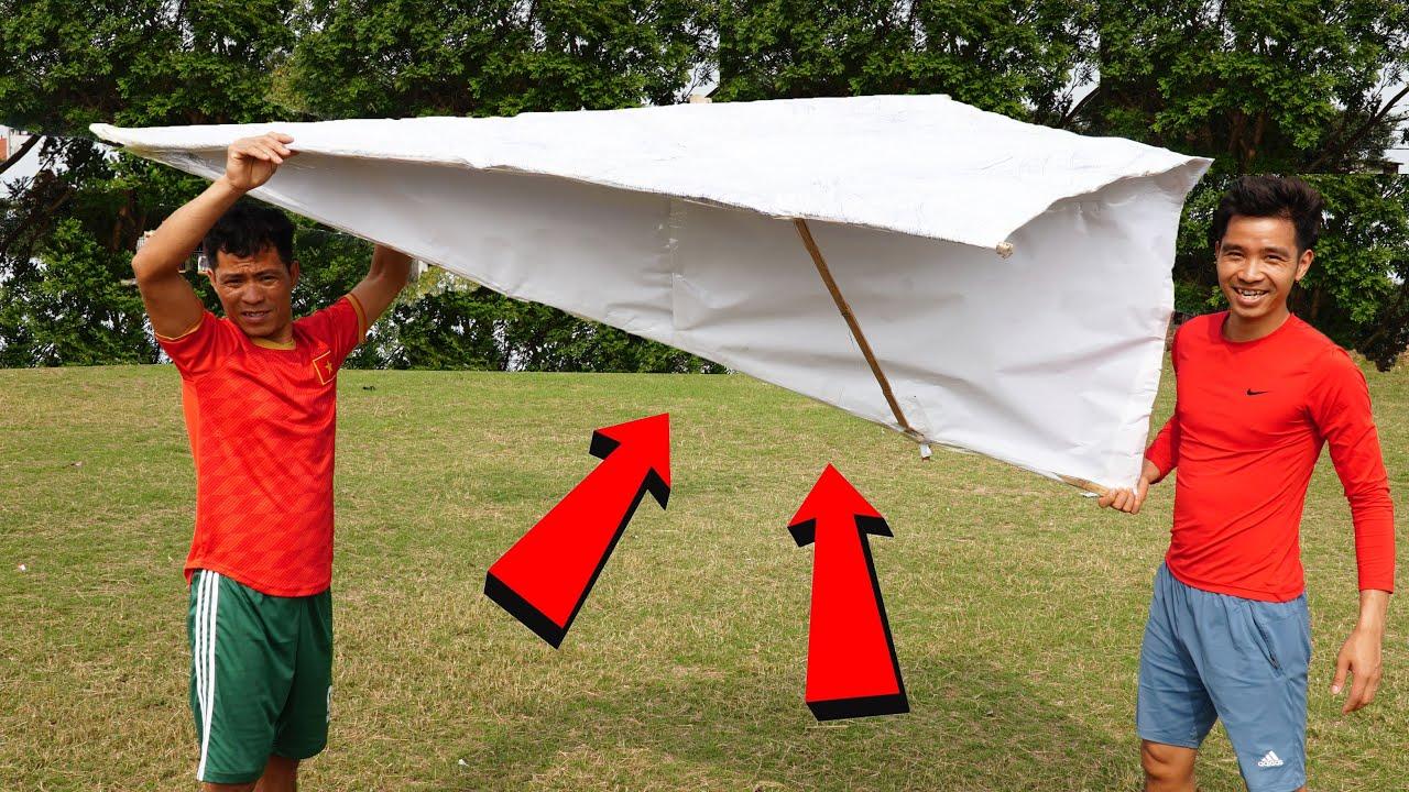 PHD | Máy Bay Giấy Lớn Nhất Thế Giới | Giant Paper Plane