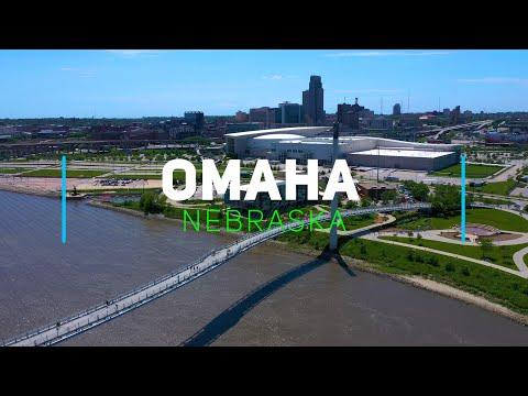 Omaha, Nebraska | 4K drone footage