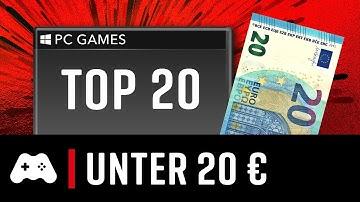 TOP 20 ► Tolle PC-Spiele unter 20€!