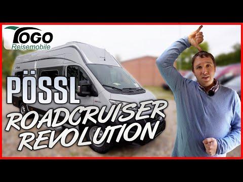 🔥MAXI-STEHHÖHE, GROßES BETT, RIESEN STAURAUM🔥 Pössl Roadcruiser Revolution 2021 TOGO REISEMOBILE