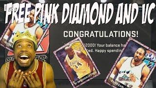 FREE VC! FREE PINK DIAMOND PLAYER! Random Item UNLIMITED LOCKERCODE! NBA 2k15 Locker Code!