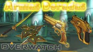 Como desbloquear armas doradas | Overwatch