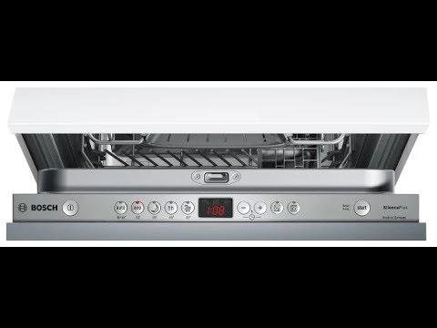Коды ошибок посудомоечных машин Бош (Bosch), Сименс (Siemens)