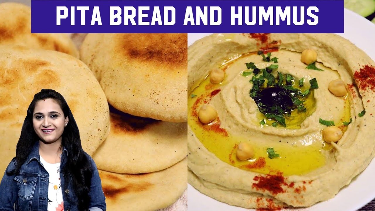 Pita Bread And Hummus Hummus With Pita Bread Pita Bread Hummus Recipe By Priyanka Rattawa Youtube