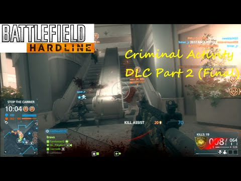 Battlefield Hardline PS3 Multiplayer - Criminal Activity DLC Part 2 (Final)