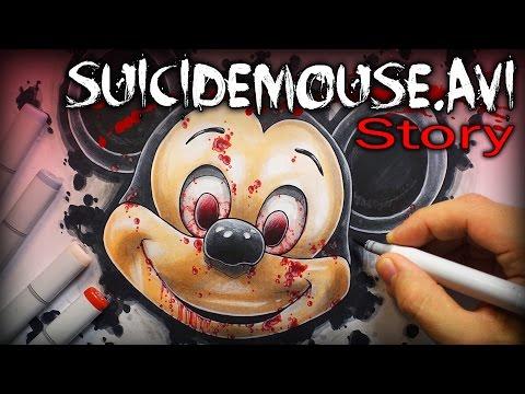 SuicideMouse.avi: STORY - Creepypasta + Drawing