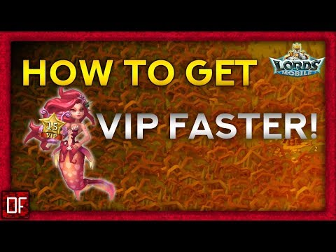 How To Get VIP Points FASTER - Lords Mobile