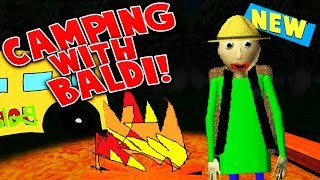 GOING ON A CAMPING FIELD TRIP WITH BALDI?! (*NEW* OFFICIAL BALDI GAME!) | Baldi