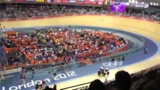 Great Britain Sprint cycling Crash at the London 2012 Olympics Hindes crash was deliberatemp4