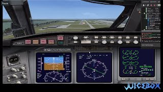 Flight Simulator X Multiplayer | Holding Traffic Pattern | IFR Flight Plan | ILS Auto Landing