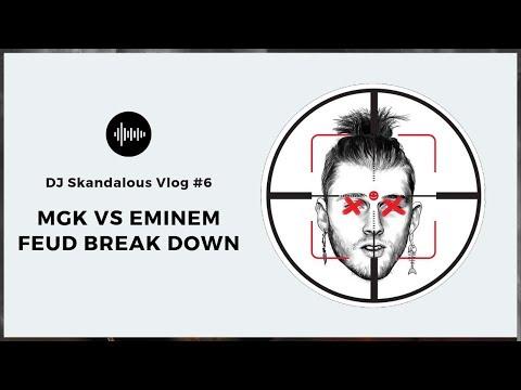 DJ Skandalous' thoughts on Eminem vs MGK