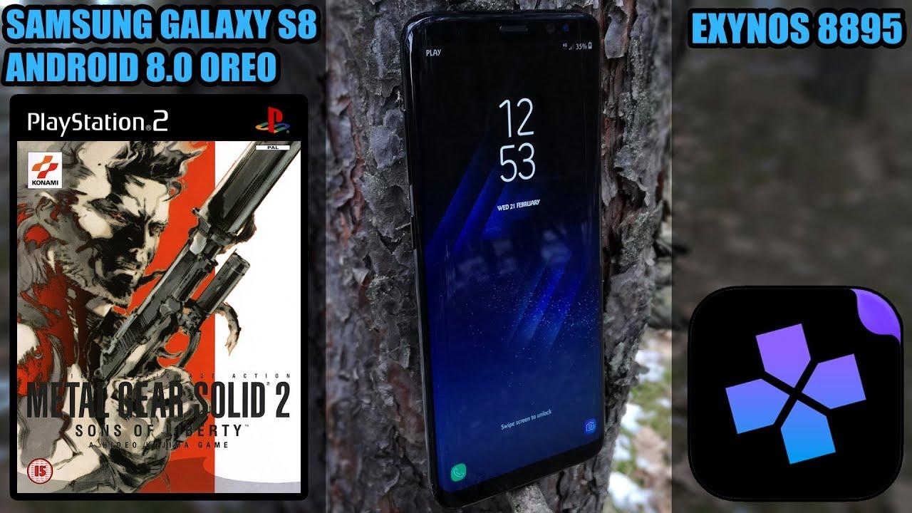 Samsung Galaxy S8 (Exynos, Oreo) - Metal Gear Solid 2: Sons of Liberty -  DamonPS2 Emulator - Test