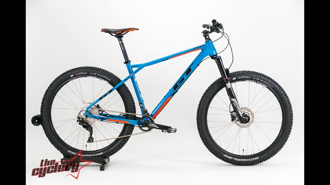 f5ab88db5bb Gt Pantera Expert 27.5+ (Plus) Trail Bike 2017 | The Cyclery - The ...