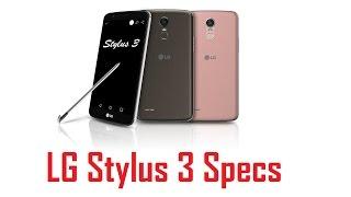 LG Stylus 3 Specs, Features & Price