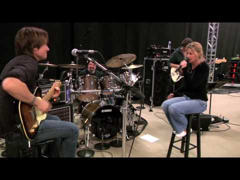 Faith Hill and Keith Urban Rehearse