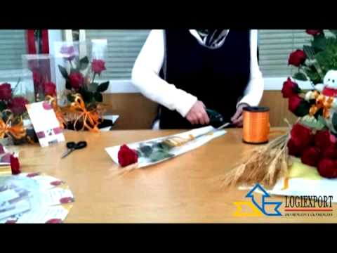 C mo montar una rosa para sant jordi youtube - Como secar una rosa ...