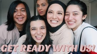 Get Ready With Us! ft. Neelofa, Ameera, Rosix & Che Cik | Athisha Khan