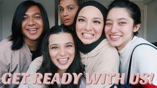 Get Ready With Us! ft. Neelofa, Ameera, Rosix & Che Cik | Athisha Khan