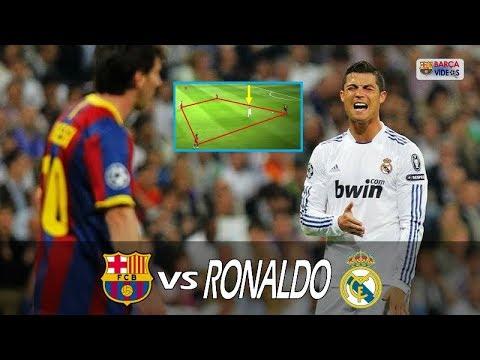 Ronaldo frustrated by Barca's Tiki Taka.