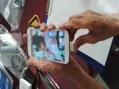 Remax otg usb not compatible with Galaxy Mega 5 8