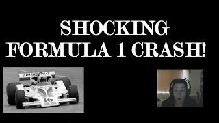 SHOCKING FORMULA 1 CRASH! Warning!!!